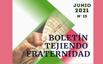 Boletín Tejiendo Fraternidad-Provincia Colombo Venezolana – Edición No.15