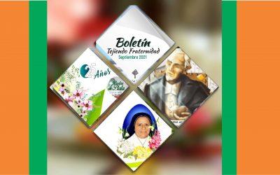 Boletín Tejiendo Fraternidad Septiembre 2021